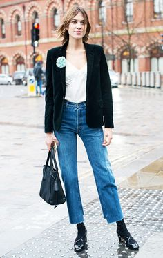 The Celebrity-Loved Jeans That Always Sell Out via @WhoWhatWear