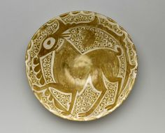 , Museum Mounts a New Installation of One of the World's Leading Islamic Art Col. , Museum Mounts a New Installation of One of the World's Leading Islamic Art Collections Islamic Decor, Islamic Art, Ceramic Pottery, Pottery Art, Dallas Museums, Art Gallery, Ancient Near East, Deer Art, Large Art