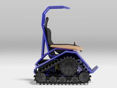 ziesel off-road wheelchair by mattro conquers all weather and terrain