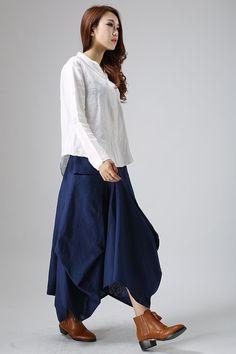 Navy blue vest maxi dress