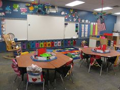 Alice in Wonderland Kindergarten Classroom