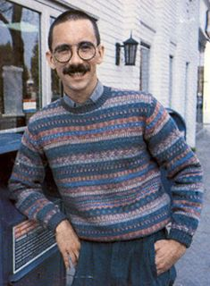 Bill Watterson, the man who wrote Calvin and Hobbes. (Also known as Calvin's dad)