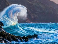 Blue Wave. Photo by Andrew Shoemaker