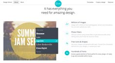 Canva makes it easy to add shapes and text to your images for your blog pots
