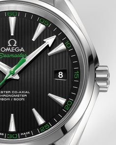 Omega Seamaster Aqua Terra, as seen in Rory McIlroy's Omega commercial.