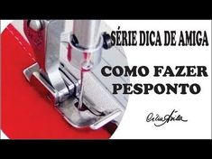 Como fazer barra, pesponto e nervuras com calcador guia. Aula 92 - YouTube Sewing Tutorials, Sewing Hacks, Sewing Patterns, Crochet Projects, Sewing Projects, Bullet Journal Layout, Love Sewing, Sewing Clothes, Diy And Crafts