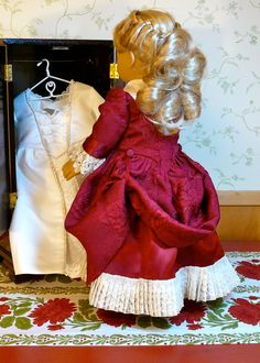 American Girl 18 inch doll clothes Colonial by Calyxadollcreations