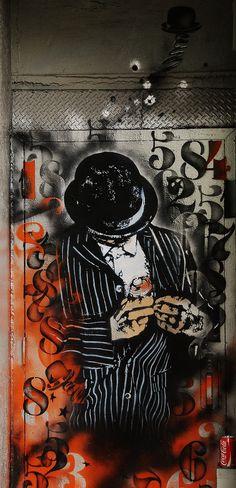 Street Art - Nick Walker in NYC