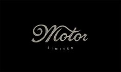 """Check out this @Behance project: """"Motor Limited"""" https://www.behance.net/gallery/37376727/Motor-Limited"""