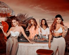 So proud of these girls they have grown up amazing they remind me of my amaz I g grandma and trust me she was amazing but nay way love you QUENS PERRIE JESY LEIGH-ANNE JADE