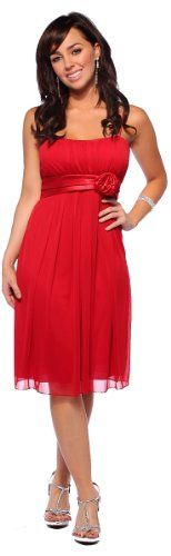 Womens Designer Flowy Pleated Evening Prom Cocktail Formal Dress $35.99