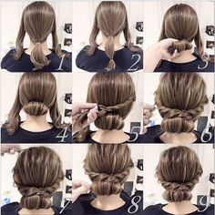 Simple Hairstyles 5 Fast Easy Cute Hairstyles For Girls  Hair  Pinterest  Low