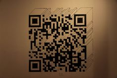 40 Gorgeous QR Code Artworks That Rock  Some really freaking cool stuff.