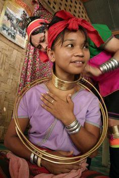 Neck Rings of Thailand's Kayan Women
