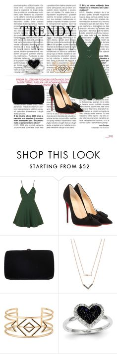 """Untitled #232"" by cams-lovatic ❤ liked on Polyvore featuring Topshop, Christian Louboutin, Sergio Rossi, Michael Kors, Stella & Dot, Kevin Jewelers, women's clothing, women, female and woman"