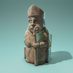 The Lewis chessmen – Bishop