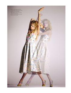 Hanne-Gaby Odiele by Serge Leblon (Darling Buds - Mixt(e) Paris #2 Spring-Summer 2012)