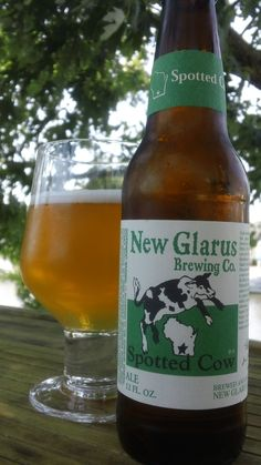New Glarus Spotted Cow. Review here: http://celebratethesuds.blogspot.com/2012/11/ride-ye-to-wisonson-great-breweries-of.html