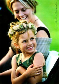 Green flowergirl