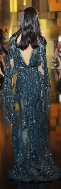 Elie Saab fall 2015 couture. Exclusive boho. For more follow www.pinterest.com/ninayay and stay positively #inspired