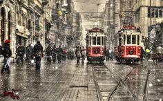Photo: Red and Snow, by Yusuf Poyraz