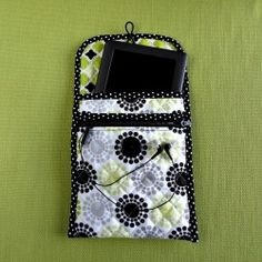 Most tablets don't come with a cover to protect them. Here's a cute one with a zippered pocket for earbuds and/or charger!