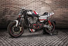Harley-Davidson XR1200 by Free Spirits | Bitubo rear WMT & front suspensions | front fork tubes only smooting scrolling | Italy