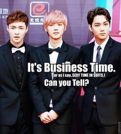 EXO_Business Time_MACRO by dancingdots.deviantart.com on @deviantART