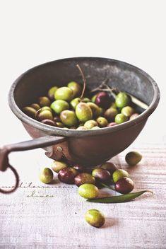 Mediterranean olives.