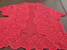 Red crochet bolero - makhina Blogcu Page - Blogcu.com