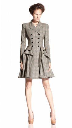 Alexander McQueen | 2011 SS Pre Fashion Look Book | Womens Spring Summer Collection