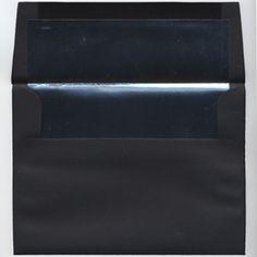 Look what I found at JAM Paper and Envelope: BLACK LINEN Envelopes and Paper - http://www.jampaper.com/Envelopes/BlackEnvelopes/