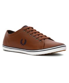 09b3b39b32 Fred Perry Men's Kingston Leather Sneaker Fashion Sneakers Montras, Sapatos,  Sapatos Fred Perry,