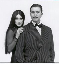 """Con Paco Valladares disfrazados de """"La Famila Adams"""""""