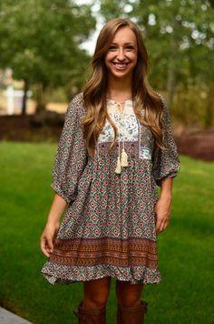 Bohemian Beauty Dress