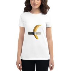 Banana art Banana art at Women's short sleeve t-shirt base trend Anvil Tshirt 880 Women's Shirt Funny Womens Tee Gift For H. The Englishman, Banana Art, Gifts For Her, Base, T Shirts For Women, Trending Outfits, Sleeve, Womens Fashion, Funny