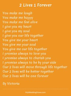 Best Wedding Vows To Wife Marriage I Promise Ideas Sweet Love Quotes, Beautiful Love Quotes, True Love Quotes, Romantic Love Quotes, Love Poems, Love Quotes For Him, Romantic Wedding Vows, Best Wedding Vows, Wedding Vows To Husband
