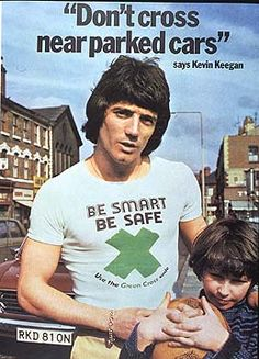 Kevin Keegan, Green Cross code ad