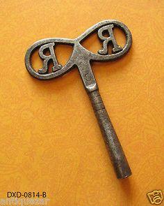 vintage cuckoo clock key