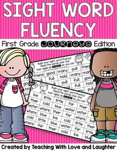 Help your students build their sight word fluency with repeated readings. These are the first grade words from the Journeys reading program. Students can practice reading the words during center time, for homework, or during your reading lessons. Reading Lessons, Teaching Reading, Teaching Ideas, Homework Checklist, Sight Word Booklets, Journeys First Grade, Literacy Work Stations, First Grade Words, Teaching Sight Words