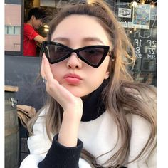 Anewish Fashion Sunglasses Women Luxury Brand  Irregular Triangle Cat Eye Vintage  Sunglasses oculos de sol mulheres  #new #sunglasses #summer #style #солнечныеочки #oculosdesol #sonnenbrille #サングラス #墨鏡