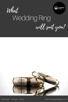 We've made our fair share of wedding rings over the years so who better to talk you through the styles, shapes and finishes available? Here's our top tips! Celtic Wedding Rings, Wedding Ring Designs, Claddagh, Suits You, Custom Jewelry, Advice, This Or That Questions, Tips, Blog