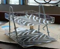 easy desk organizer/tray