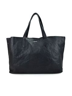 Nunoo Sally Bag: The classic Sally shopper by  Nunoo is either the perfect everyday bag for your computer, or a little weekend trip with a change of clothes, stilettos and a good book. The smooth leather emphasizes the simple design. It closes with a zipper.