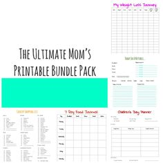 50+ FREE Printables That Will Improve Your Life - Wife.Mother.Teacher.