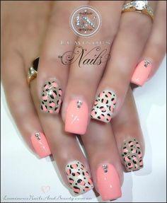 luminous nails -