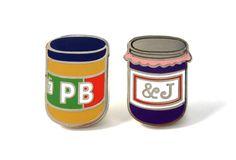 Pintrill,PB & J Pins, $20, available atPintrill.