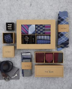 Men's Tie Gift Boxes & Accessory Gift Sets Tie Gift Box, Tie Box, Underwear Packaging, Stocking Stuffers For Men, Bff Birthday Gift, Fashion Packaging, Gifts For My Sister, Bracelet Tutorial, Mens Gift Sets