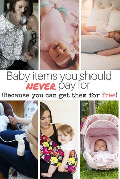 Searching for free baby gear? Here's a list of ton's of stuff you should NEVER pay for because it's free! Some big buck breast feeding tools you usually pay over $200 for- completely free!