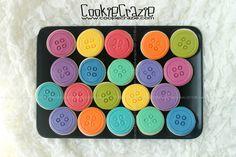 Simple Button Decorated Cookies (Tutorial) — CookieCrazie
